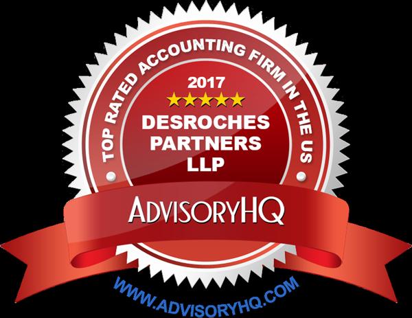 Advisory HQ recognizes Desroches Partners in 2017